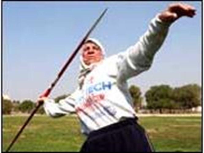 Iraklı atletin azmi